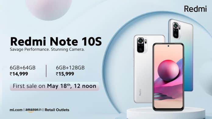 Redmi Note 10S launched with MediaTek Helio G95 chipset in India
