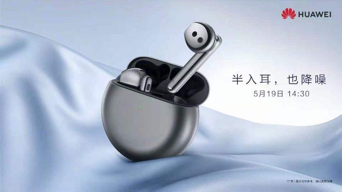 Huawei FreeBuds 4 TWS launching on May 19