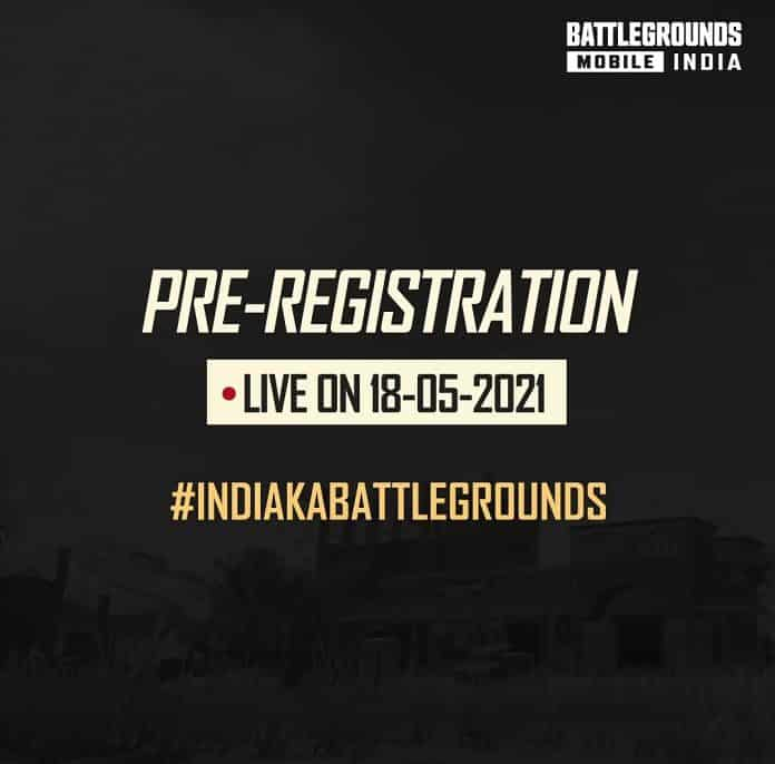 BATTLEGROUNDS MOBILE INDIA Pre-registration is starting from 18th May in India