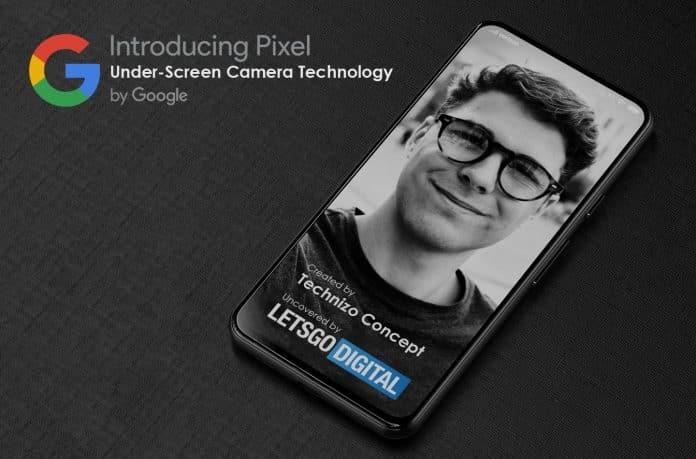 Google Pixel renders show an under-screen camera