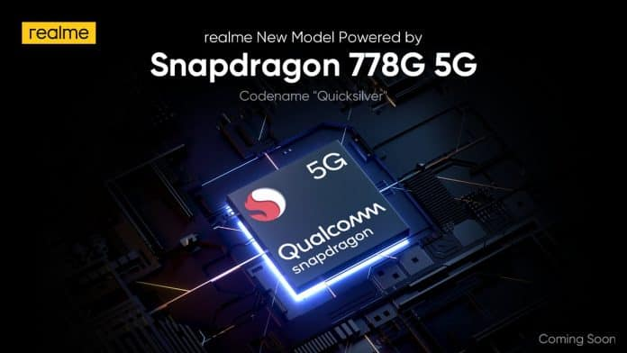 Realme Quicksilver teased to launch with Snapdragon 778G 5G chipset