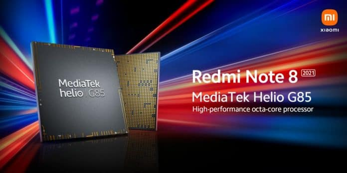 Redmi confirmed Note 8 2021 with Helio G85 chipset