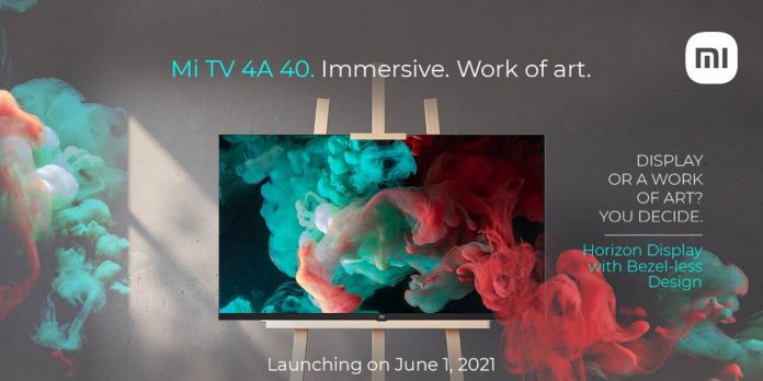 Mi TV 4A 40 Horizon Edition to launch on June 1