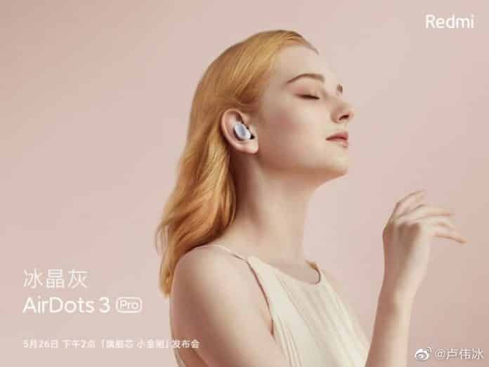 Redmi AirDots 3 Pro with ANC to launch today along with Redmi Note 10 series in China