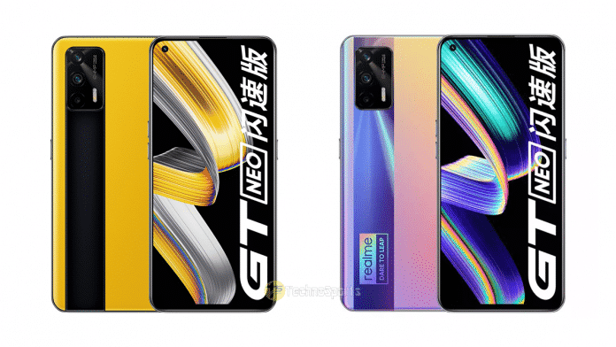 Realme GT Neo Flash Edition launched with Dimensity 1200 SoC and 120Hz display in China