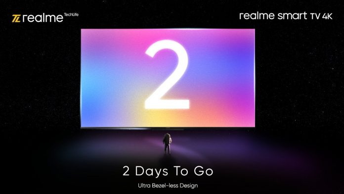 Realme TV 4K is coming in 2 sizes and with MediaTek SoC