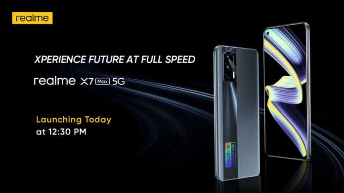 Realme X7 Max 5G pricing leaked ahead of the Indian launch