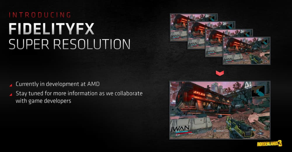 AMD Gaming Super Resolution receives patent; could we expect  FidelityFX Super Resolution sooner?