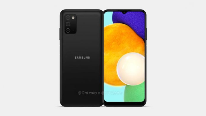 Samsung Galaxy A03s CAD renders appeared online