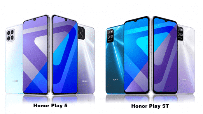 Honor Play 5 and Play 5T unveiled in China featuring different chipsets