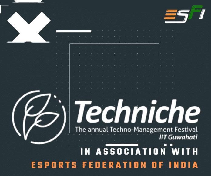 Techniche, IIT Guwahati partners ESFI to launch mega esports event as part of their annual fest