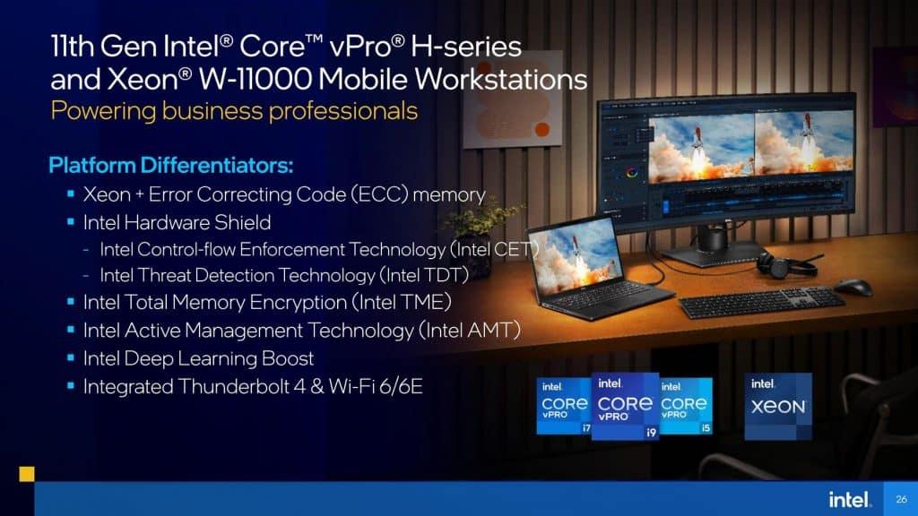 vPro® H-series processors