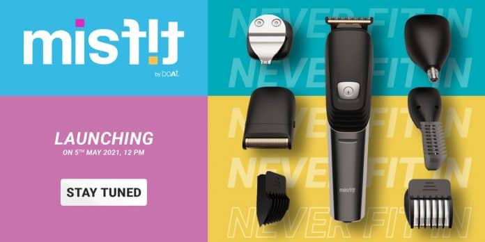 Misfit by boAt to introduce its first Grooming Kit today, sale starts at 12 noon_TechnoSports.co.in