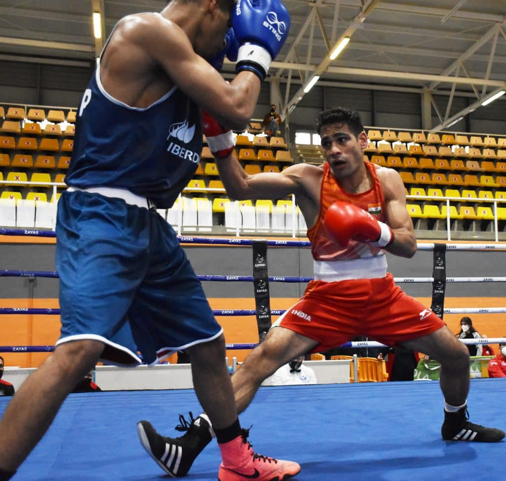 One step away from a medal, four Indians in action on Day 2 at the 2021 Asian Boxing Championships