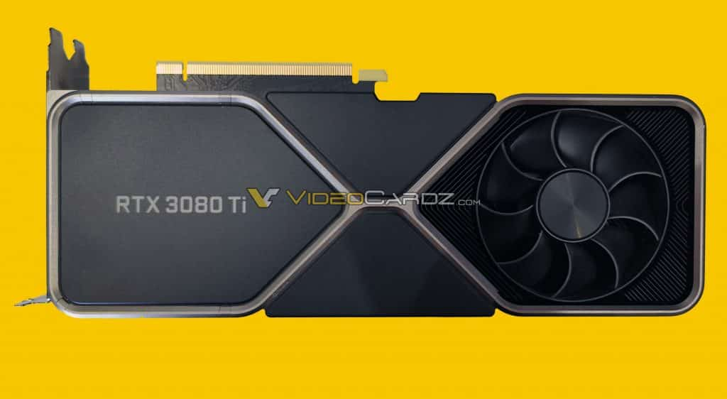 New NVIDIA GeForce RTX 3080 Ti Founder's Edition pictured