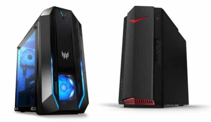 Acer refreshes its Predator Orion and Nitro Gaming Desktops