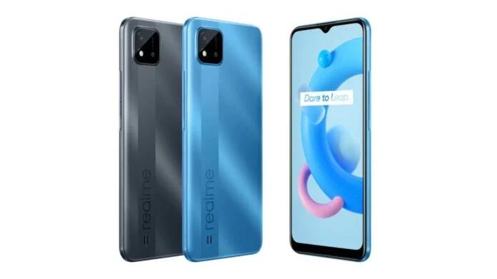 Realme C11 (2021) announced as a downgrade from the original Realme C11