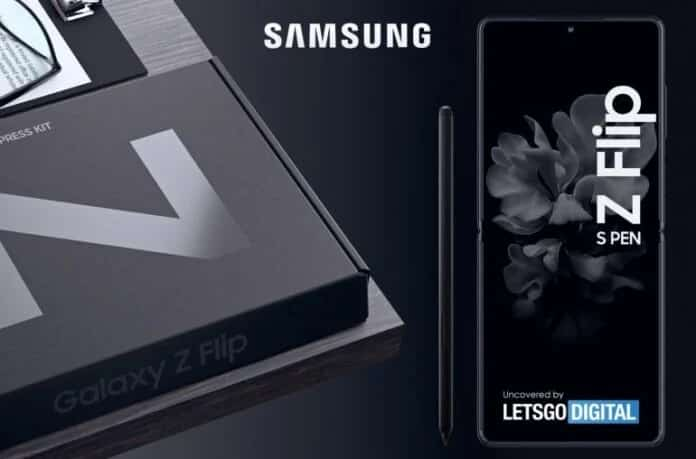 Samsung Galaxy Z Flip Series Features, might support S Pen