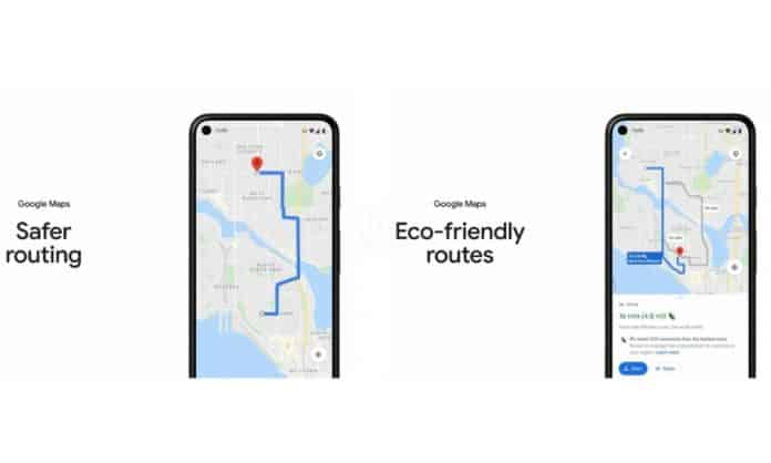 Google Maps brings new eco-friendly and safety features