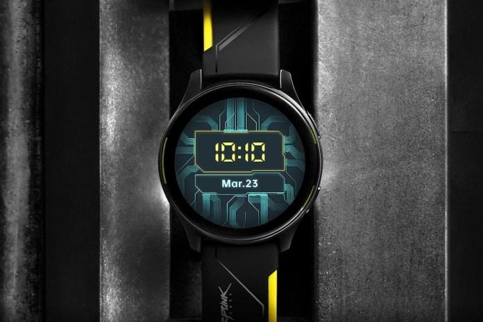 OnePlus Watch Cyberpunk 2077 Edition Launching On May 24 in China