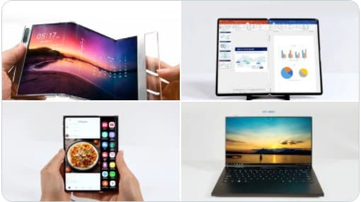 Samsung Display presents its new foldable technology