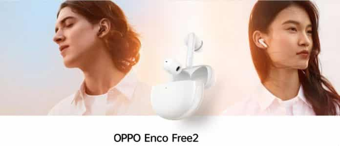 Oppo Enco Free 2 launched with 30Hr battery life at ¥599