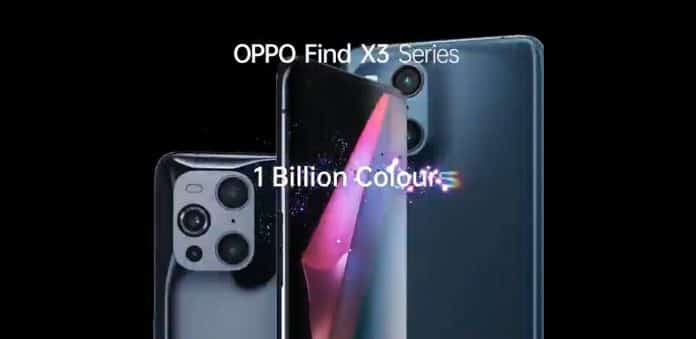 OPPO Find X3 series is launching in India soon