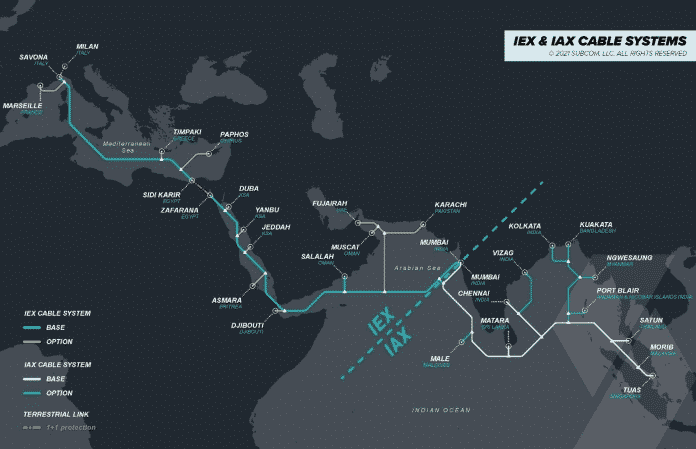 India at the Center of Two New Subsea Cable Systems to Support Exponential Data Growth
