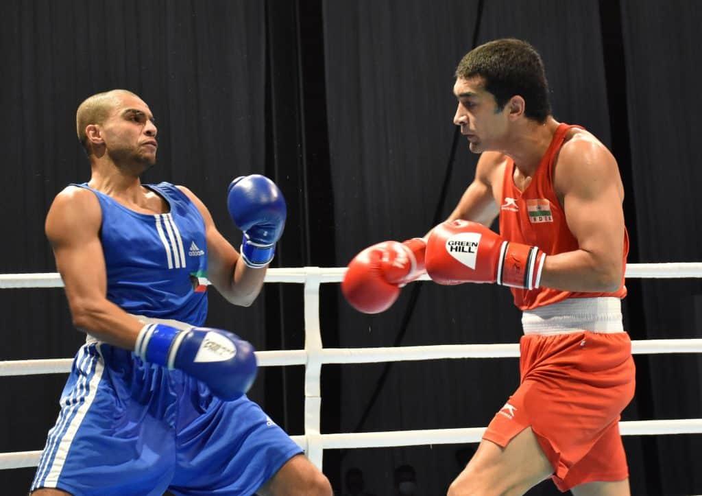 Simranjit, Jaismine and Sakshi advance into semis as India assured of 12 medals at 2021 ASBC Asian Boxing Championships