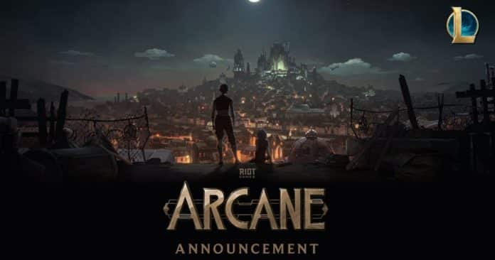 """Arcane"": Netflix has announced League of Legend's Animated Series"