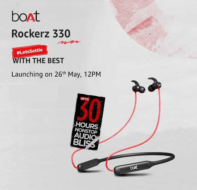 boAt Rockerz 330 launch date announced_TechnoSports.co.in