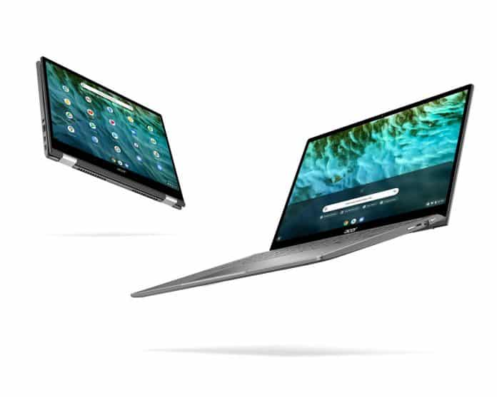 Acer Chromebook Spin 713 and Enterprise Spin 713 are the industry's first Intel Evo certified Chromebooks