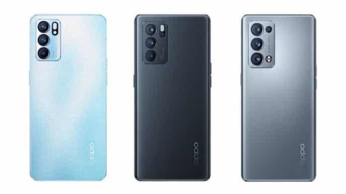 OPPO Reno 6, Reno 6 Pro, Reno 6 Pro+ launched in China