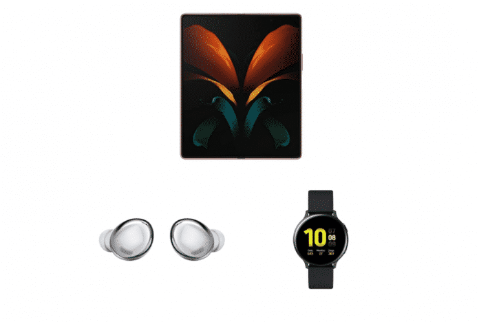 Samsung Galaxy Fold2 + Ear Buds Pro + Galaxy Watch Active 2 combo available for ₹1,51,979