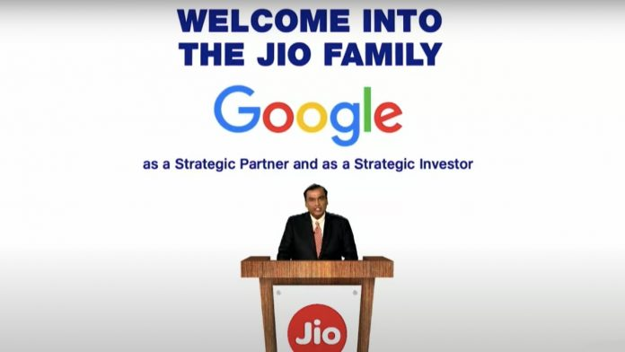 Google and Jio working together to bring the 5G revolution to India