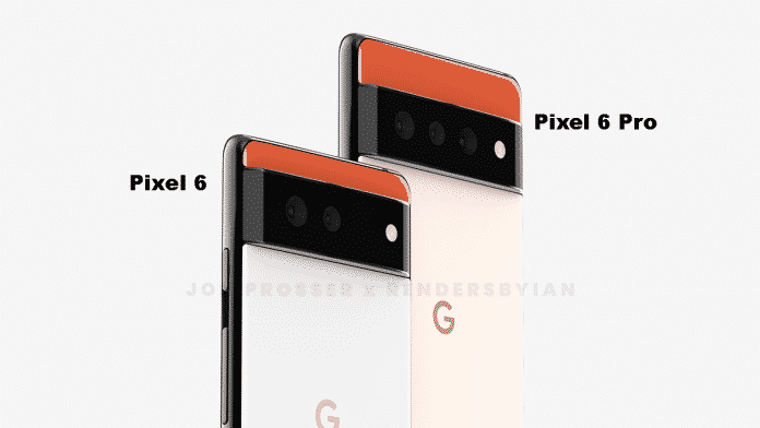 Google Pixel 6 and Pixel 6 Pro seems different in these leaked renders