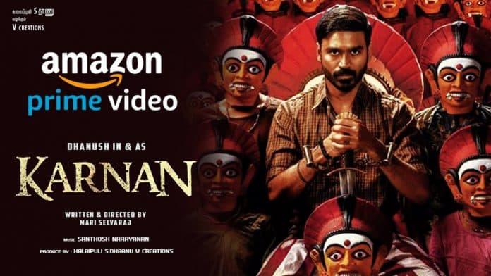 """KARNAN"": Amazon Prime Video has released the teaser of Dhanush's latest film"