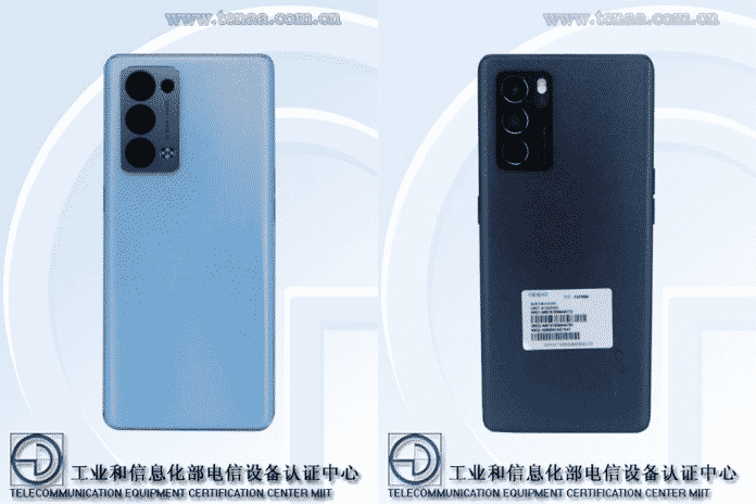 OPPO Reno 6 Pro and Reno 6 Pro+ first look listed on TENNA Certification