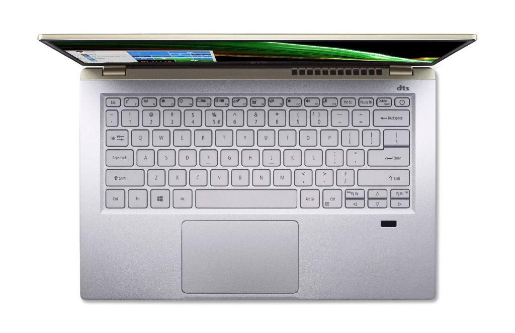Upcoming Acer Swift X laptop powered by AMD Ryzen 5000U APUs on Acer Thailand site