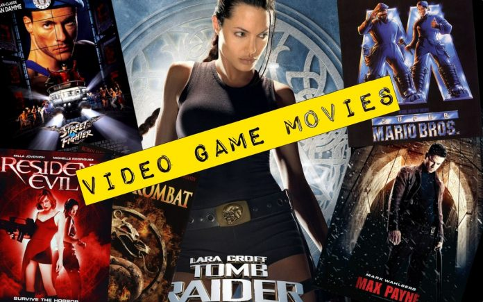 Top Famous Video Game Movies