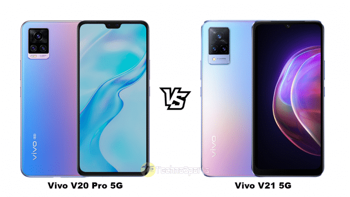 Vivo V20 Pro 5G vs Vivo V21 5G: Specs, Features and Price Comparison