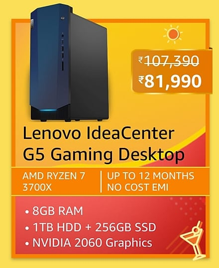 Top 4 Gaming Desktop deals on Amazon Summer Shopping sale