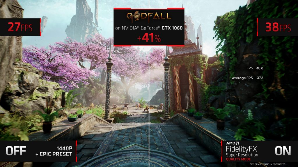 AMD launches FidelityFX Super Resolution for all GPUs & APUs