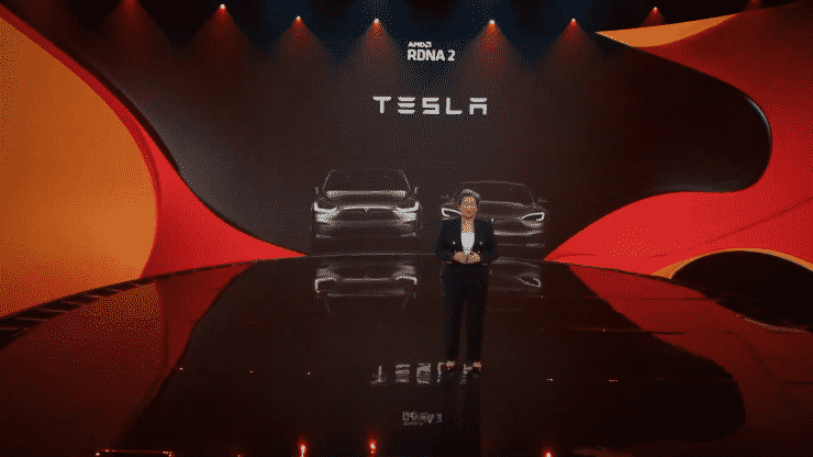 AMD RDNA 2 GPU Architecture will decorate Tesla Model S and Model X Automated cars__TechnoSports.co.in