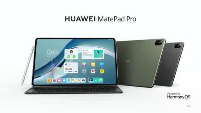 Huawei MatePad Pro launched with HarmonyOS
