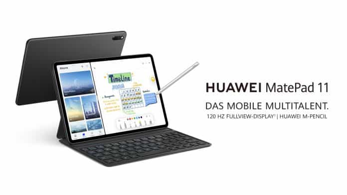 Huawei MatePad 11 launched with a 7,250mAh battery in Germany