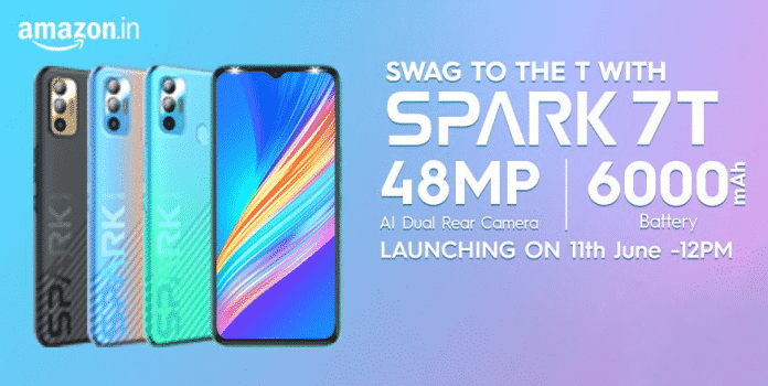 Tecno Spark 7T all details leaked ahead of the official launch