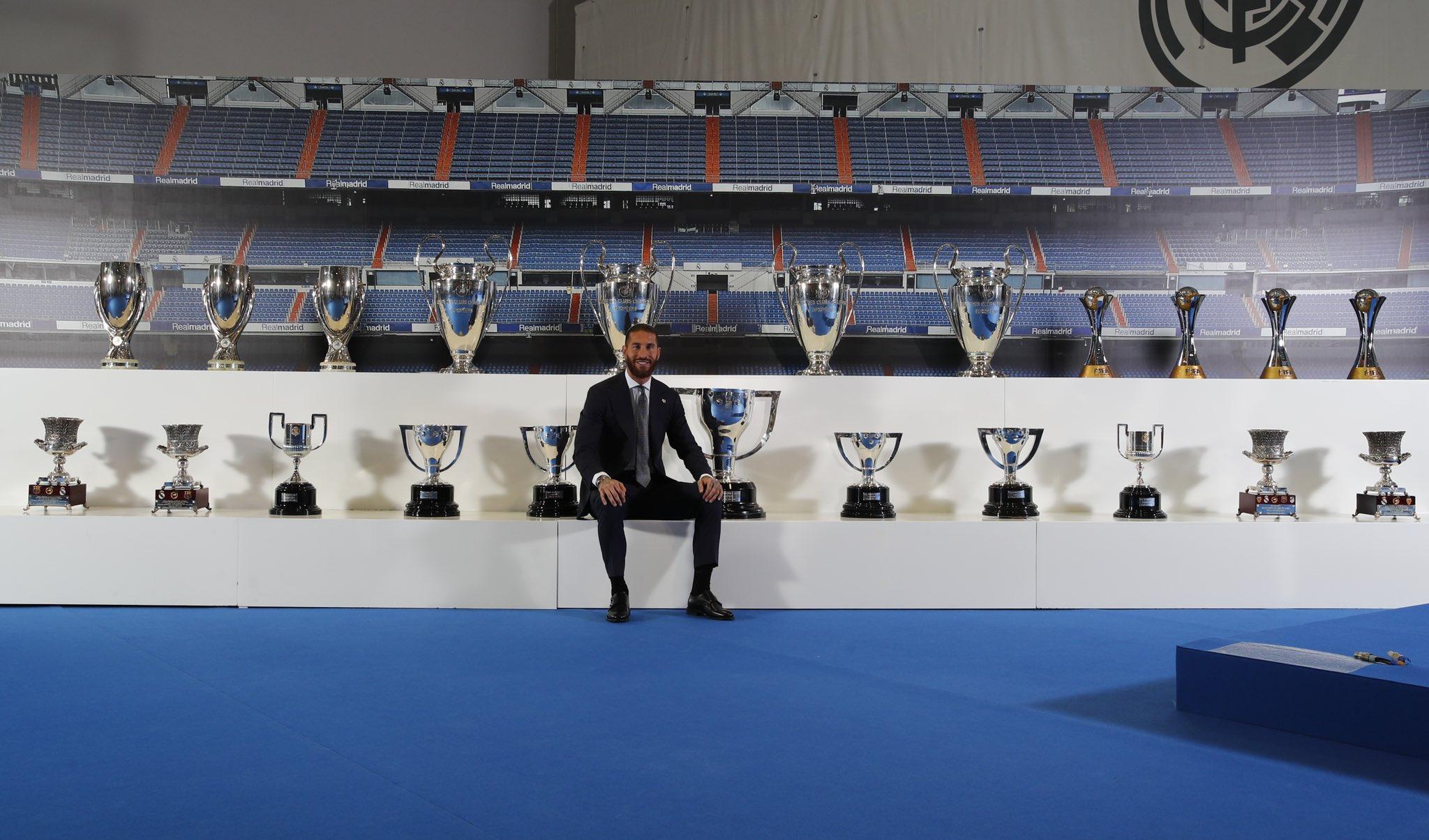 Sergio Ramos' farewell press conference in full - TechnoSports