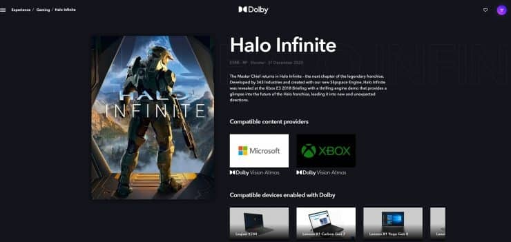 Hola Infinite on Dolby Website_TechnoSports.co.in