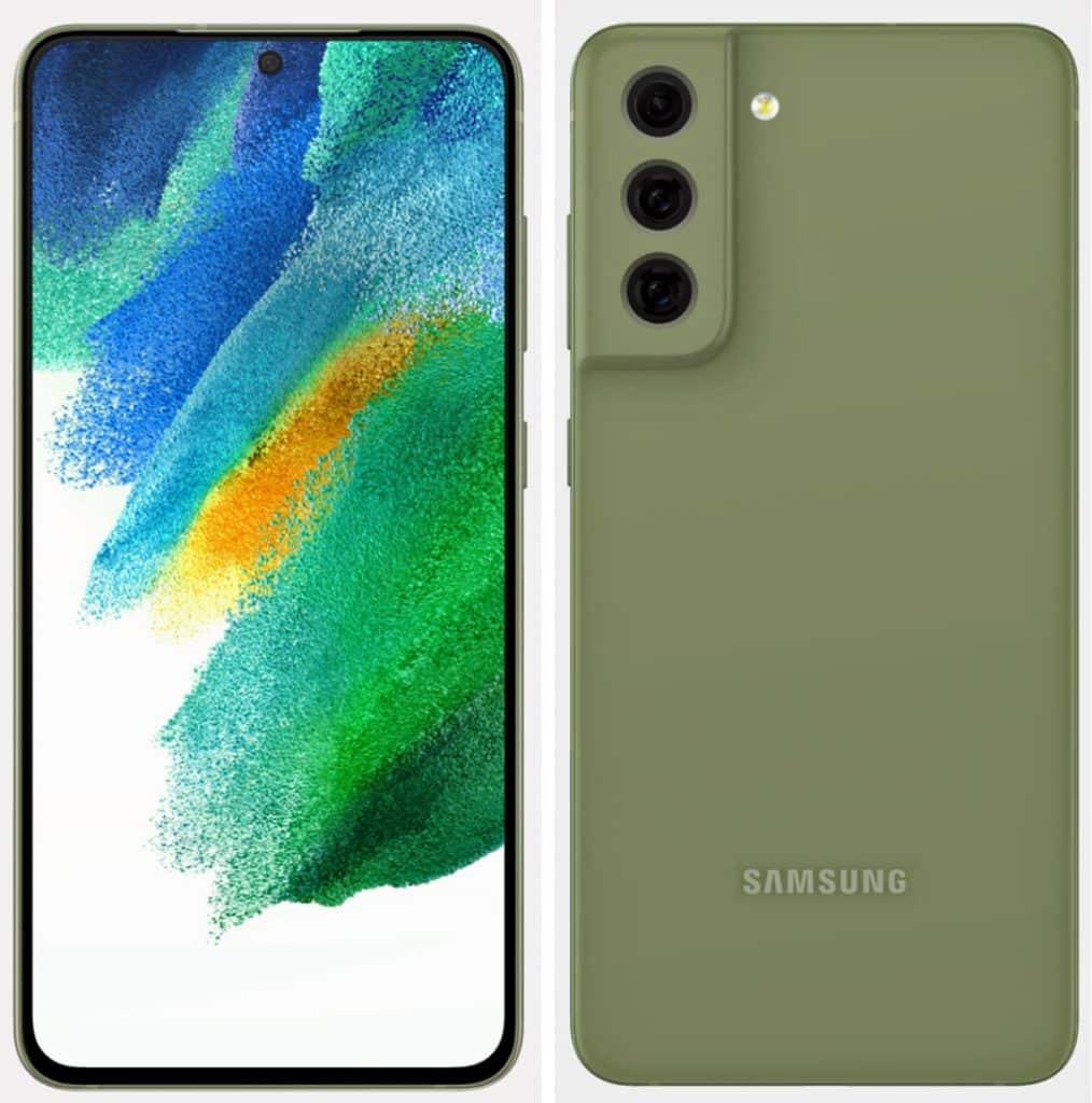 Samsung Galaxy S21 FE New design leaked